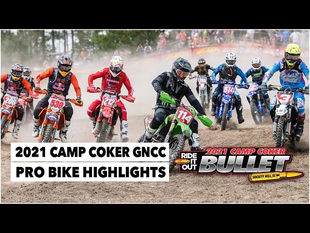Résumé GNCC USA 2021 - RD4 - Camp Coker Bullet