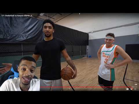 FlightReacts Jesser 1V1 Basketball vs Kenyon Martin Jr.!