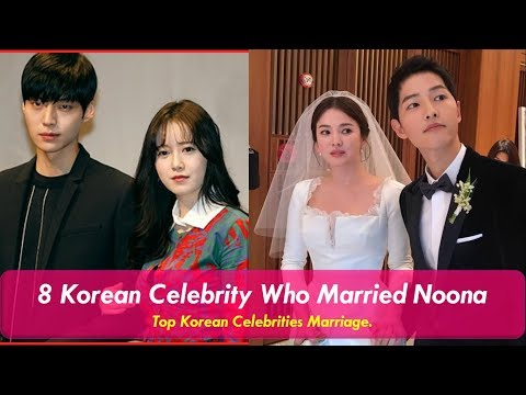 8 Korean Celebrities Who Married Noona In Real Life