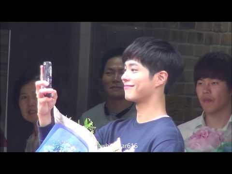 160624 박보검 뮤직뱅크 마지막 출근길 직캠