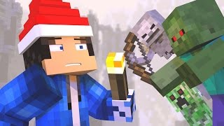 "♫ ""12 NIGHTS OF SURVIVAL"" - A MINECRAFT CHRISTMAS SONG ♫"