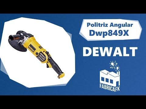 "Politriz Angular 7"" 1250W DWP849X DeWALT - 127V - Vídeo explicativo"