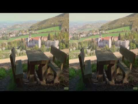Tiefenbachpfad St. Wendel - 3D (HD1080p / YT3D Stereoscopic)