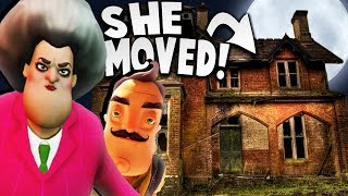HELLO NEIGHBOR'S SISTER MOVED TO A VERY CREEPY NEW HOUSE! | Hello Neighbor Mobile Game Rip Off