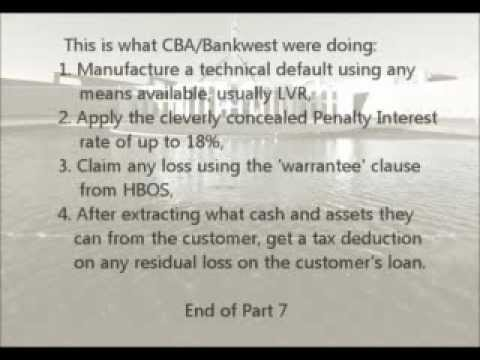 Too Big to Prosecute Pt 7/10 - Bankwest CBA Corruption