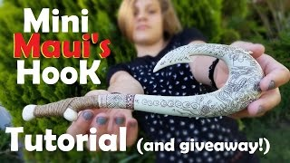 Mini Maui's Hook Tutorial! (Giveaway Closed)