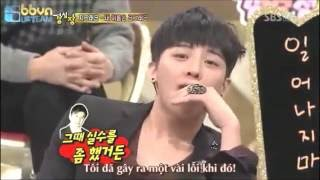 [VIETSUB] STRONG HEART G-DRAGON DANCING IN FRONT OF SNSD MEMBERS - YOONA SNSD