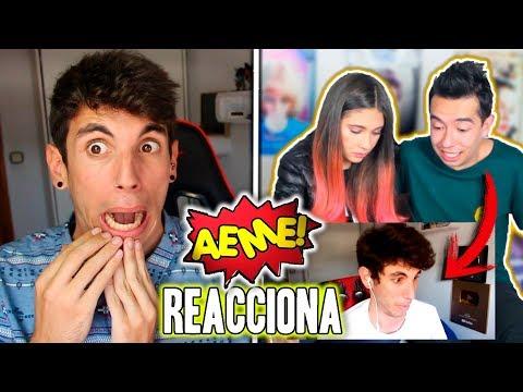 AMARA QUE LINDA y AMI RODRIGUEZ (AEME) Reaccionan a un VÍDEO MIO!!