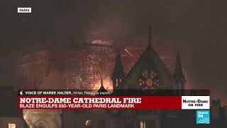 French Interior Ministry 'Firefighters Might Not Be Able To Save Notre Dame'