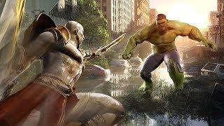 ARCADE MODE!   ALL EPISODES (Hulk vs. Kratos, Batman vs. Iron Man, Flash vs. Spider-Man and more!)