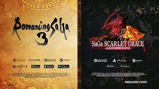SaGa E3 2019 Trailer – Romancing Saga 3 & SaGa SCARLET GRACE: AMBITIONS