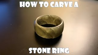 How to Carve a Stone Ring with just a Dremel