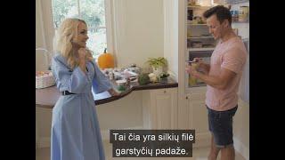 Oksana Pikul-Jasaitienė desertui renkasi itin neįprastą patiekalą