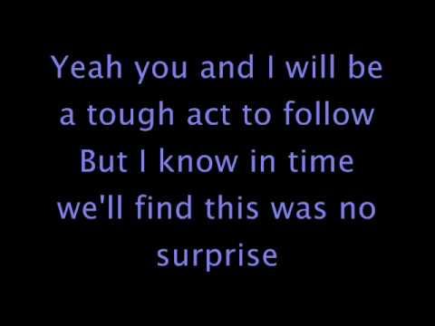 No Surprise - Daughtry (lyrics)