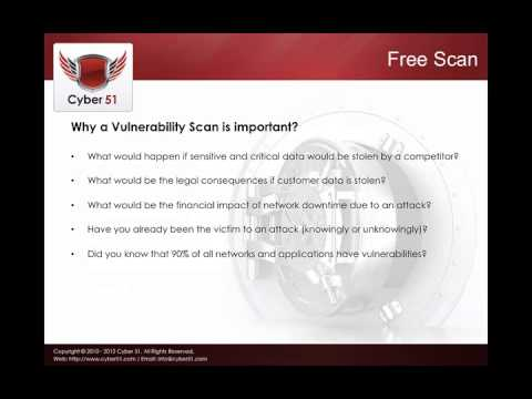 Free Vulnerability Scan, Free Vulnerability Assessment | Cyber 360 | Cyber 51