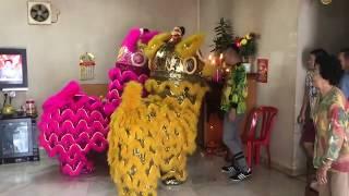 NAUGHTY LION DANCE IN DA HOUSE CNY 2018