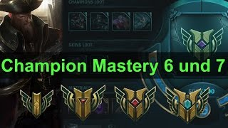 Champion Mastery Level 6 und 7 via Hextech Crafting | League of Legends