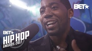 YFN Lucci BET Hip Hop Awards 2017 Instabooth Freestyle