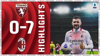 Highlights | Torino 0-7 AC Milan | Matchday 36 Serie A TIM 2020/21