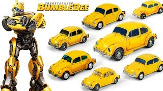 2018 Transformers Movie Bumblebee VW Betle Bumblebee 7 Vehicles Transformation Robots Toys