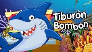 Tiburón Bombon  Canciones Infantiles con animales