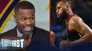 Stephen Jackson on LeBron's kingly Game 2 night, Westbrook and Thunder's loss | FIRST THINGS FIRST