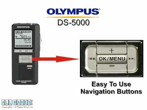 Olympus DS5000 Digital Dictation Recorder from All Makes Office Machine