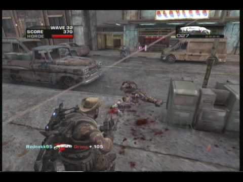 Gears of War 2 Horde TDG Get Out Alive