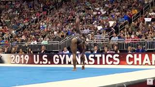 Simone Biles Floor Routine for 2020 [2017-20 CoP]