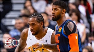 Paul George joining Kawhi Leonard on Clippers is stunning - Stephen A. | SportsCenter