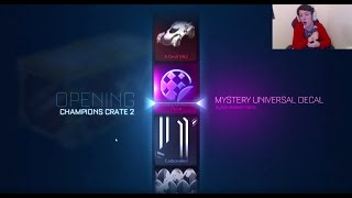 Rocket League - Opening Champion Series Cases! SOMETIMES LUCKY