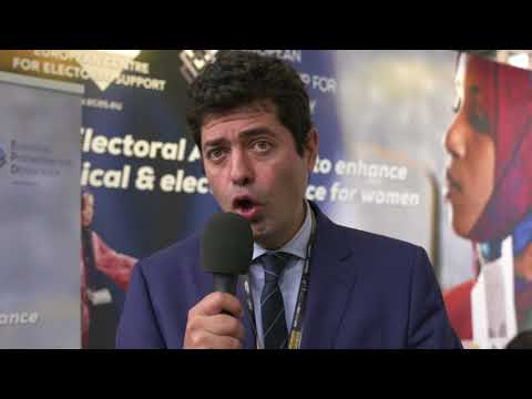 Gorka Gamarra on Women Participation in Electoral Processes (FR)