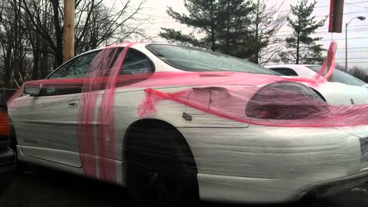 Saran Wrap Car April Fools Pranks!
