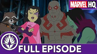 The Guardians Catch a Princess | Marvel's Guardians of the Galaxy S2 Ep6 | Girls Just Wanna Have Fun