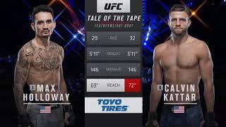 Max Holloway vs. Calvin Kattar - FullFight   UFC Fight Island   16 Jan 2021