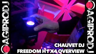 CHAUVET DJ FREEDOM H1 X4 in action