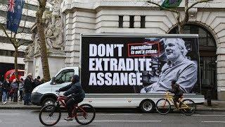 Julian Assange extradition case begins
