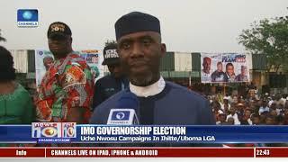 Imo Gov'ship Race: Uche Nwosu Campaign In Ihitte/Uboma LGA