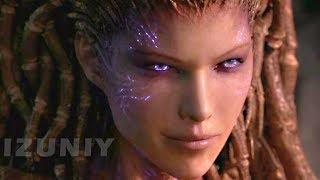 StarCraft 2 Heart of the Swarm All Cinematics Cutscenes Movie