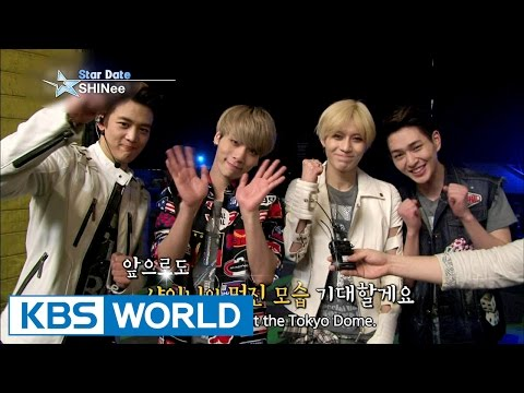 SHINee's concert at the Tokyo Dome (Entertainment Weekly / 2015.04.03)
