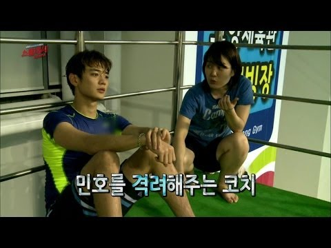 【TVPP】Minho(SHINee) - Good at Diving, 민호(샤이니) - 다이빙에 소질있는 민호 @ Star Diving Show Splash