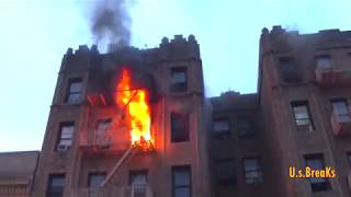 Fordham road & Decatur ave Fire