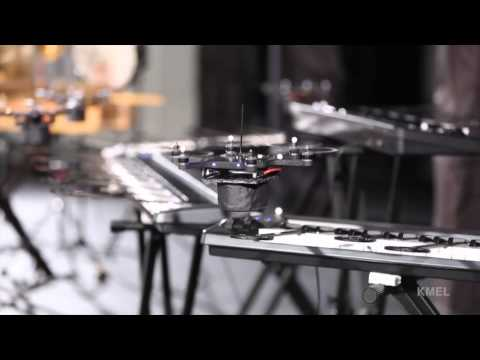 Flying Robots Create Music In All-Drone Symphony - Smashpipe News