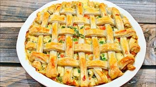 How to make Amazing Chicken Pot Pie - Perfect chicken pot pie recipe