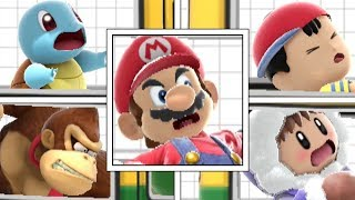 Every Character's REACTION When RIDING THE BUS In Super Smash Bros Ultimate