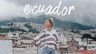 i went to ecuador | travel vlog