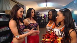 The Bella Twins and The Funkadactyls get into a huge brawl: SmackDown, March 15, 2013