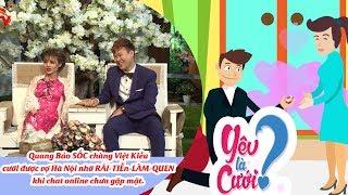 Chat online tặng 5 triệu KO CẦN GẶP MẶT – chàng Việt Kiều cưới được cô gái Hà Nội xinh xắn làm vợ😋