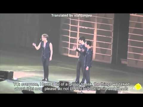 [ENG SUB] 141213 JYJ in Osaka (dirty talk)