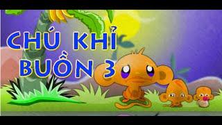 Game chú khỉ buồn 3 - Video đáp án game chú khỉ buồn 3
